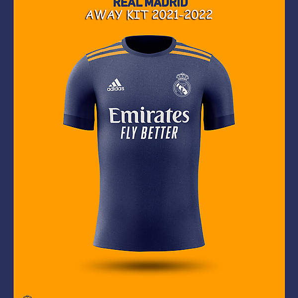 REAL MADRID AWAY Kit concept 2021-2022