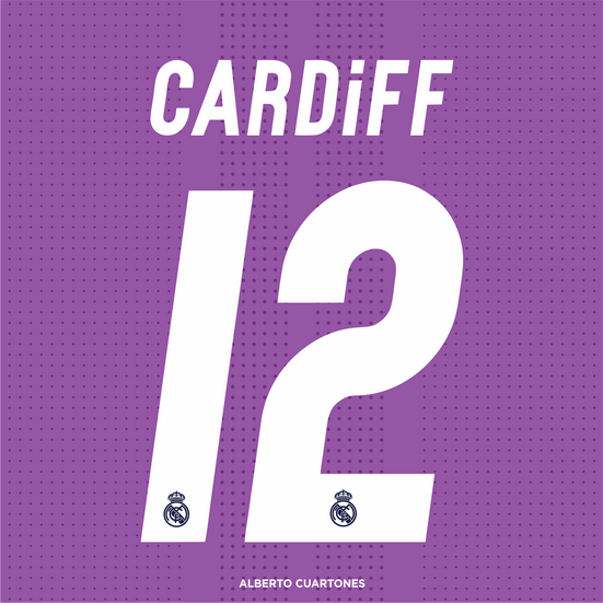 Real Madrid CARDIFF 12 Printing