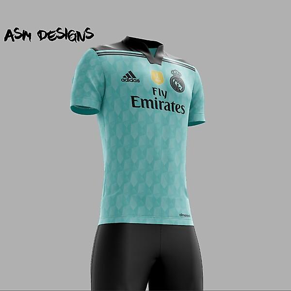 Real Madrid C.F. 2018 Adidas Alternate Kit