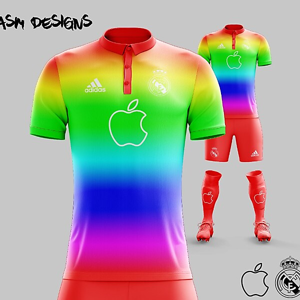 Real Madrid C.F. 2018 Adidas Apple X Kit