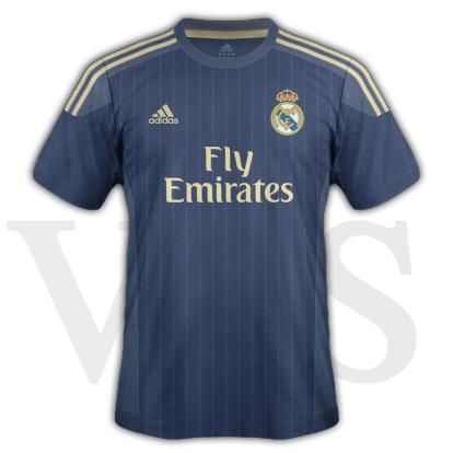 Real Madrid fantasy Away kit with Adidas