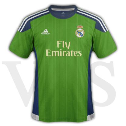 Real Madrid fantasy Third kit with Adidas