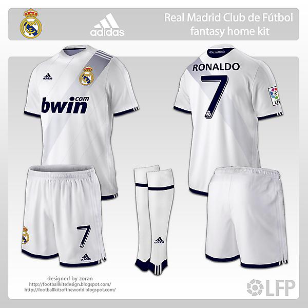 Real Madrid fantasy home