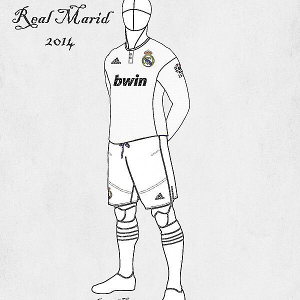 Real Madrid Home 2013/14