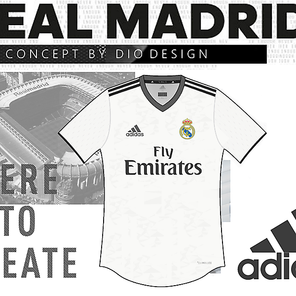 Real Madrid Home Kit by Dio Design