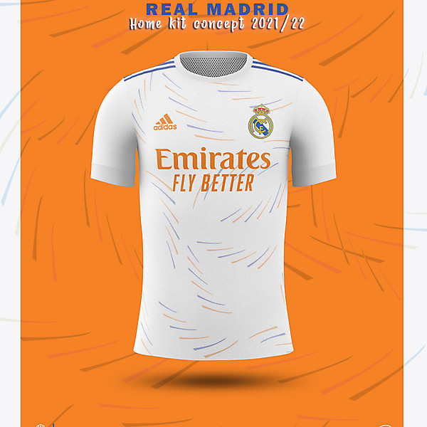 Real Madrid HOME Kit Concept 2021-2022
