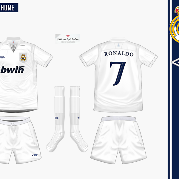 Real Madrid Home Umbro