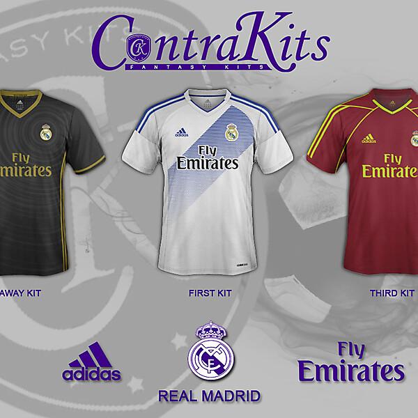 REAL MADRID kit 2017/2018