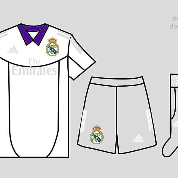 Real Madrid Kits Home 2017