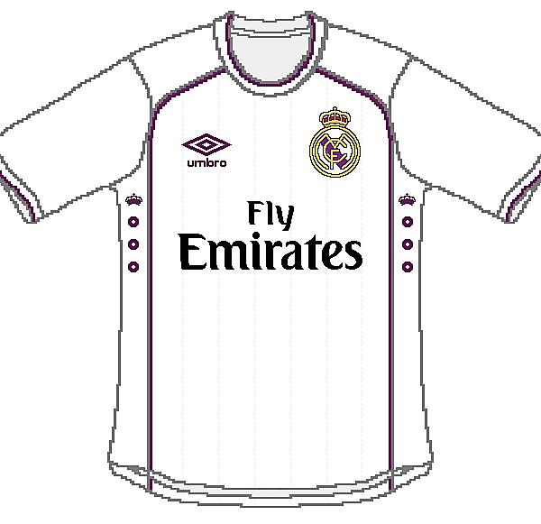 Real Madrid Umbro Home