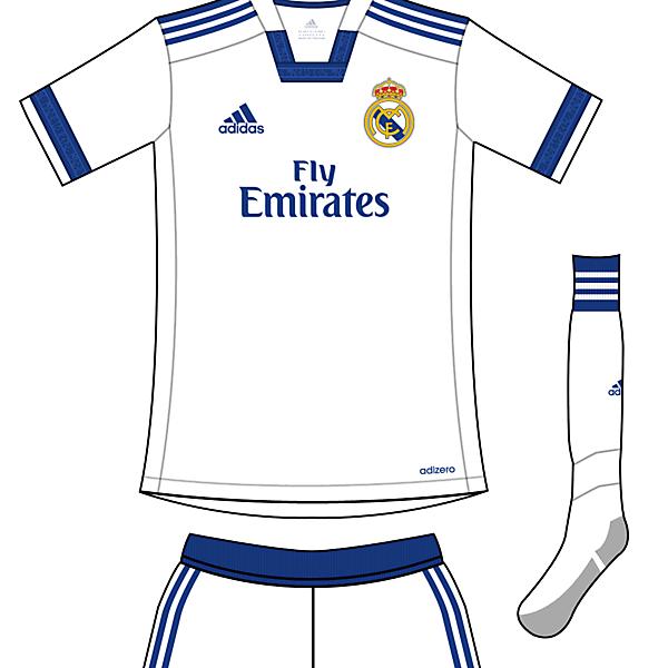 Real Madrid Vikingos Home kit