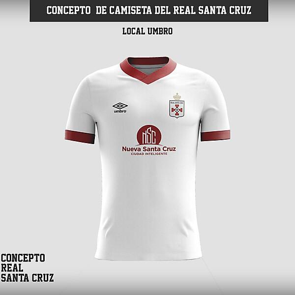 Real Santa Cruz - Concepto de camiseta local
