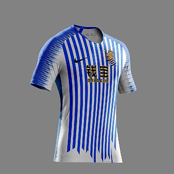 Real Sociedad Nike 2019 Home Kit