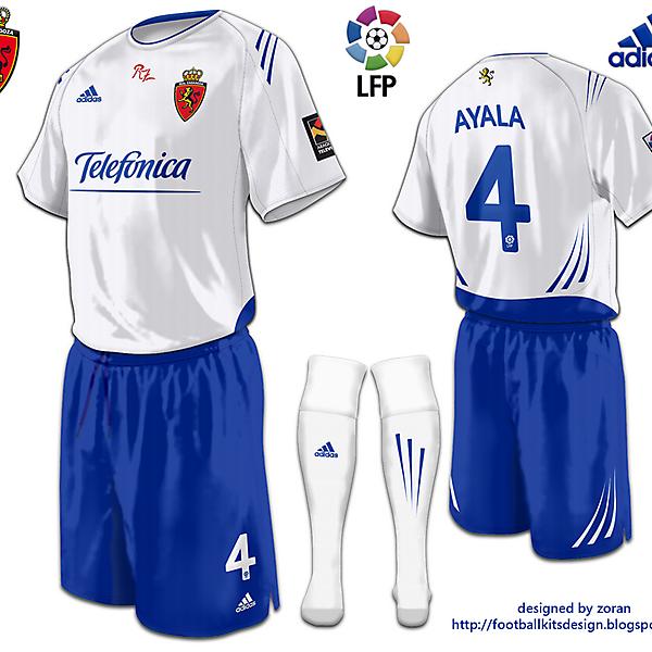 Real Zaragoza fantasy home