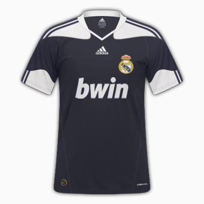 Real Madrid 11/12 Away Kit