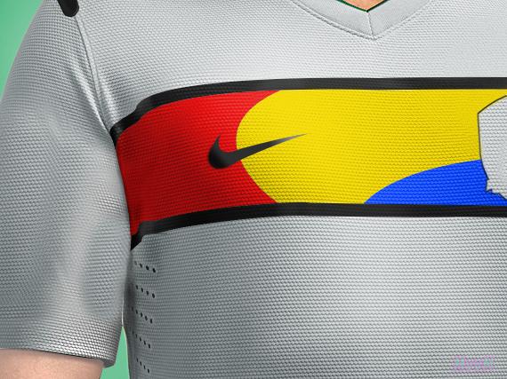 2D&3D 2012-2014 Nike Korea Republic Away/Alternate Kit