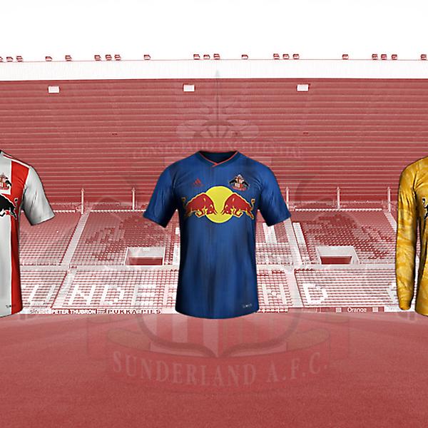Red Bull Sunderland kits