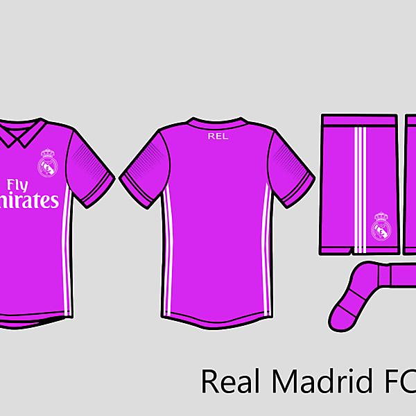 Rel Madrid Kit Away 2016