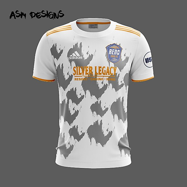 Reno 1868 FC Adidas 2019 Away Kit