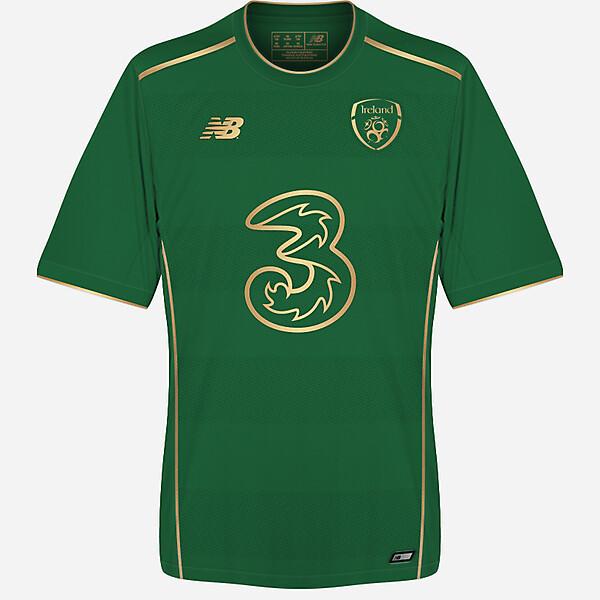 Republic of Ireland 2017/18 home kit