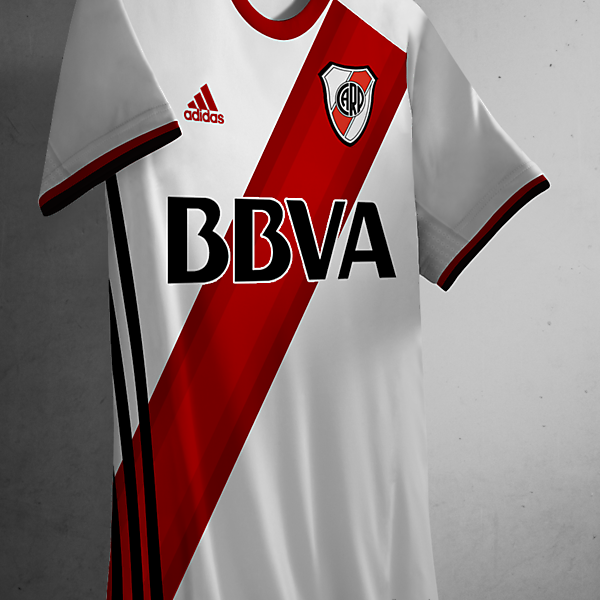 River Plate 2016/17 Home Kit