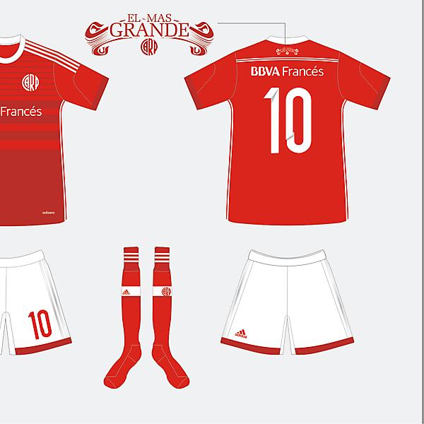 River Plate Alternativa Adidas 2014 - 2015