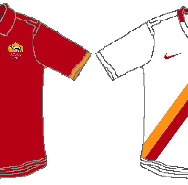 Roma 2014/15 Nike Kits