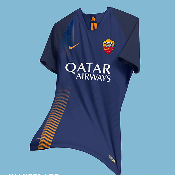 Roma Away Kit Nike