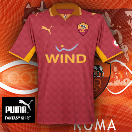 AS Roma fantasy Puma shirt