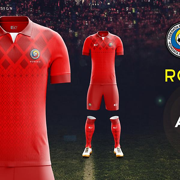 Romania Euro2016 AwayKit by BEKY
