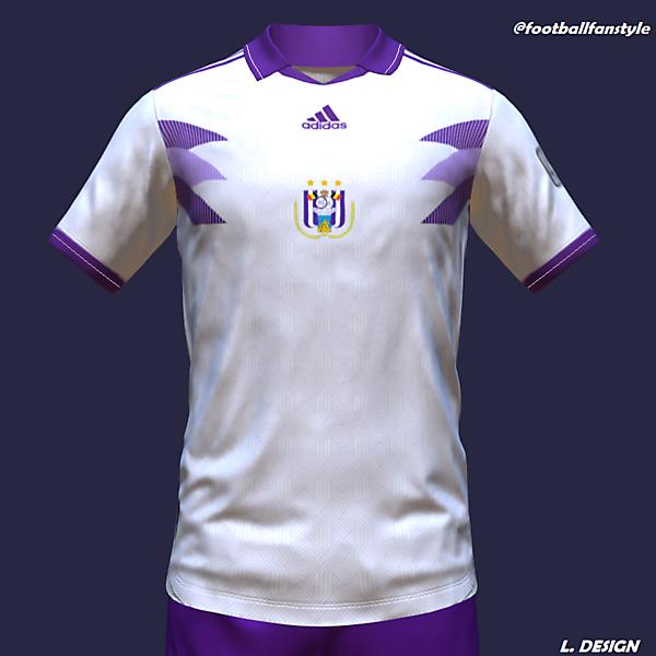RSC Anderlecht x Adidas concept kit (Away)