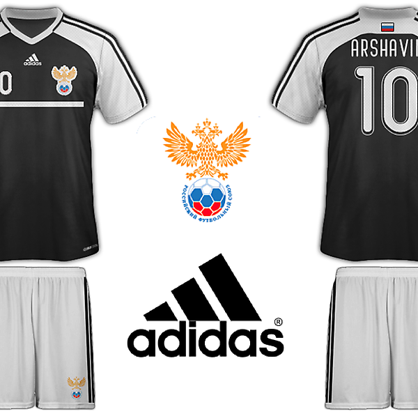Russia Adidas Away Kit