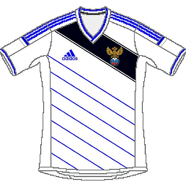 Russia Adidas World Cup Away Kit