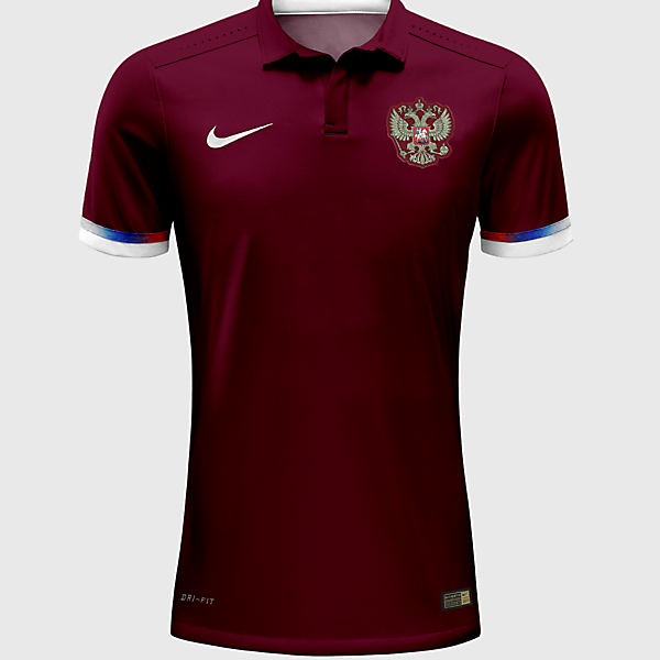 Russia Home Jersey