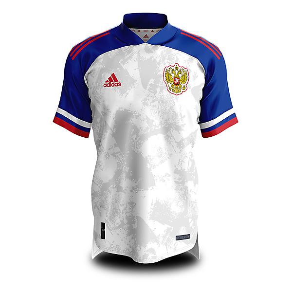 Russia Home Shirt - V1 - Condivo 20 Mockup