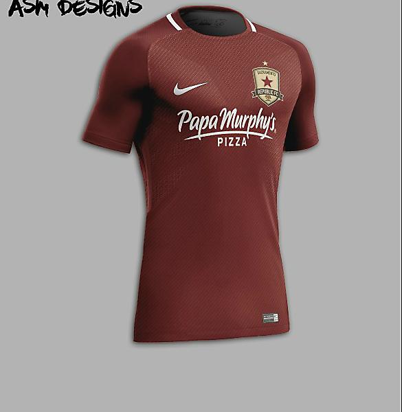 Sacramento Republic FC Nike 2018 Home Kit