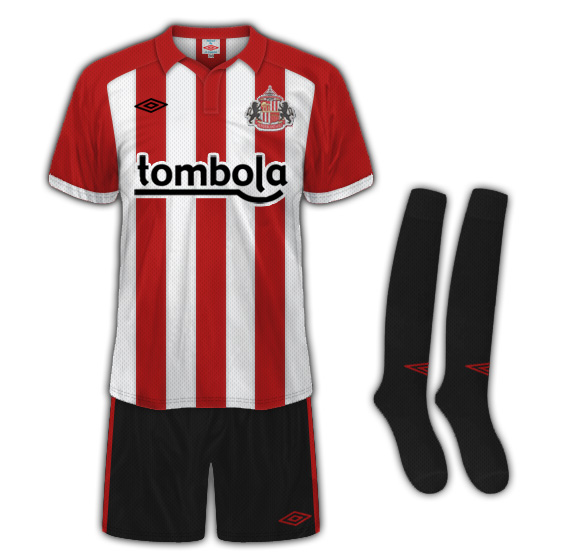 Sunderland AFC Home Kit 2010/11