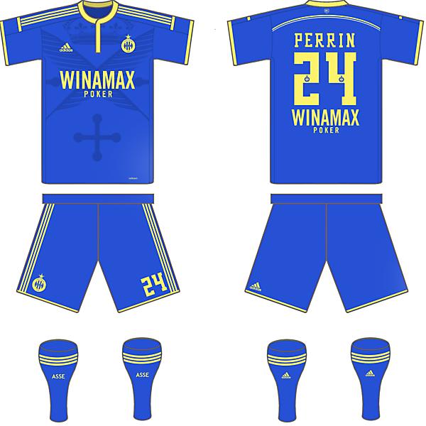 Saint-Etienne Away Kit