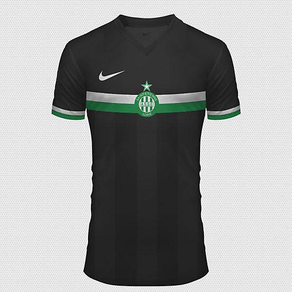 Saint Etienne Away 2015 - 2016 With Nike