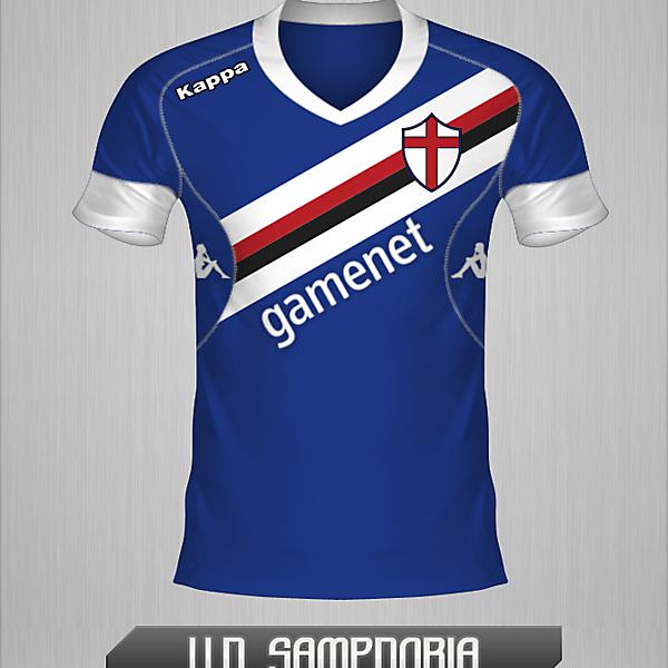 Sampdoria, Home Shirt