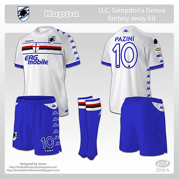 Sampdoria fantasy away
