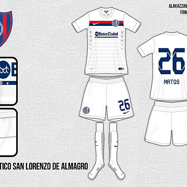San Lorenzo Away