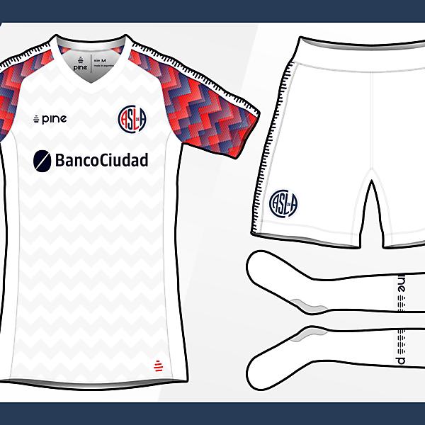 San Lorenzo de Almagro Away Kit by Pine