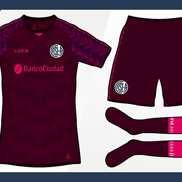 San Lorenzo de Almagro Third Kit by Pine