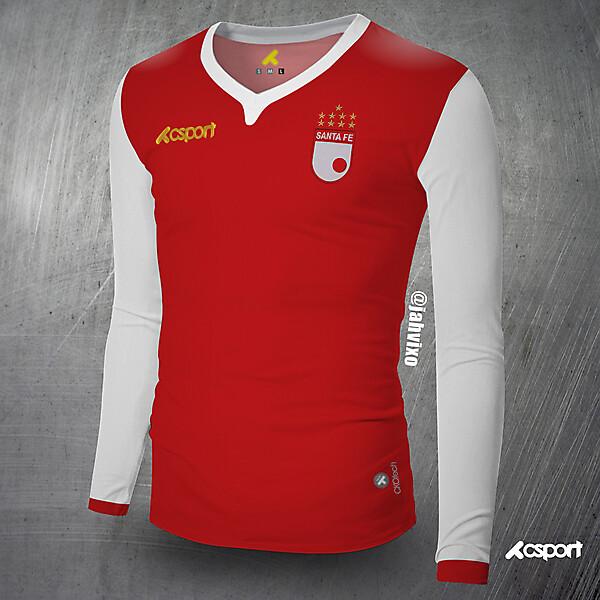 Santa Fe classic football shirt