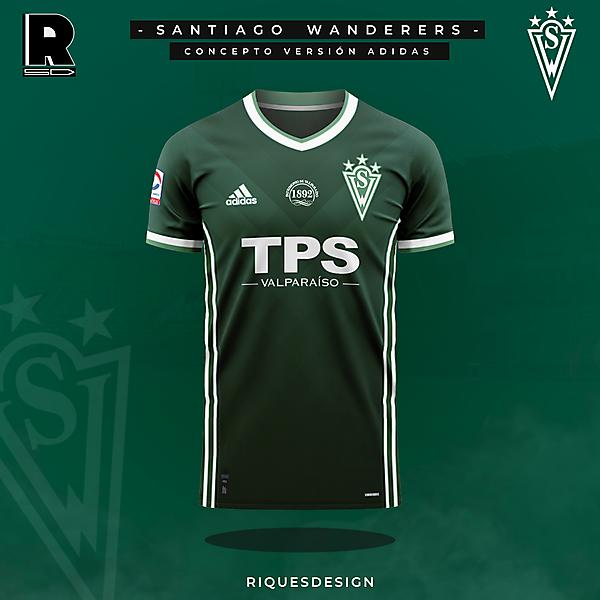 Santiago Wanderers - Concepto Adidas Local