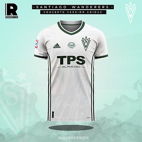 Santiago Wanderers - Concepto Adidas Visita