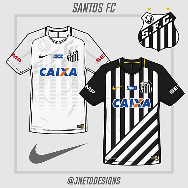 Santos FC - @jnetodesigns