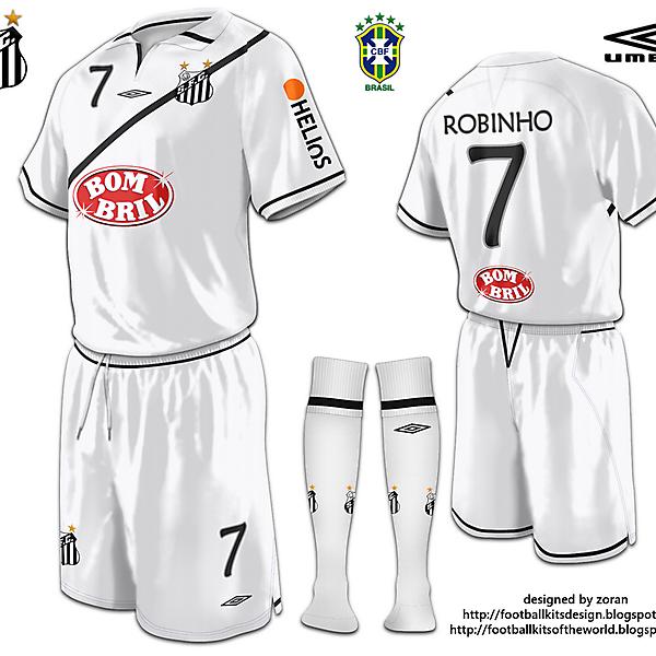Santos FC fantasy home