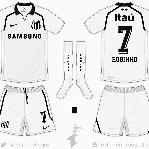 Santos Home Kit - Nike [Azure Matchday 7]